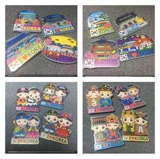 Korea Fridge Magnets