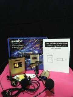 Shure M03HC Mic Clip On Wireless