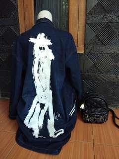 #paydaymaret Korean coat jeans