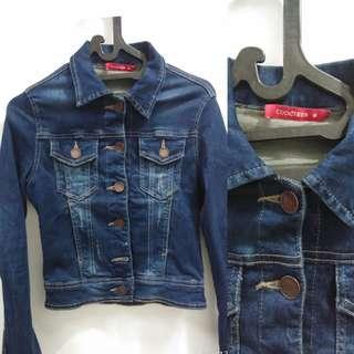 Jaket jacket denim jeans cewek coolteen cooljeans