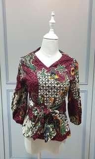 Batik Print Top