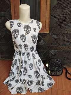 #paydaymaret Dress skull H&M