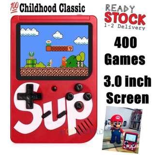 Hot 400 Sup Games Console Boy Retro Mini Handheld Game Consoles Kids Game Gift