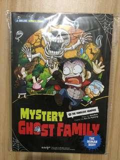 Mystery Ghost Family book