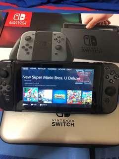 Modded sxos Nintendo Switch with 128gb