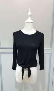Black Cropped Top Cotton On