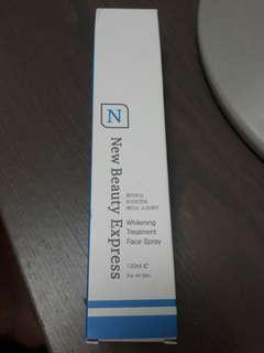 New Beauty Express (NBE), whitening Treatment Face Spray (Made in Korea)