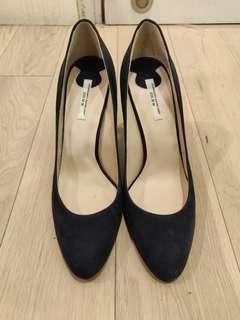 Authentic VII XII XXX Saint Tropez corporation navy blue shoes