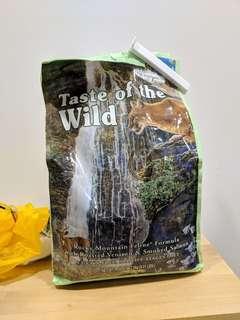 🚚 Taste of the wild rocky mountain 2kg