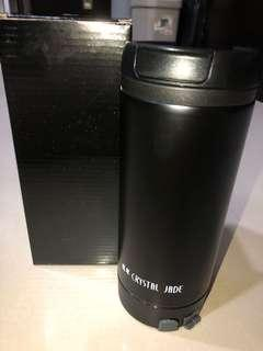 crystal jade tumbler water bottle