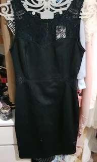Dress hitam forever21