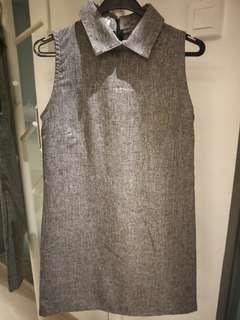 SALE = Sleeveless back zip dress