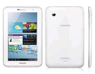Samsung Galaxy Tab 2 GT-P3110 8GB, Wi-Fi, 7in - White Touch Screen Tablet