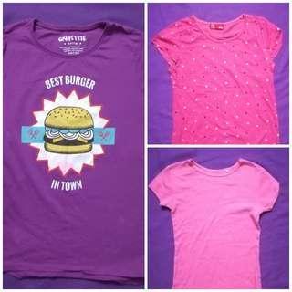 Girls cotton basics -  T shirts #STB50