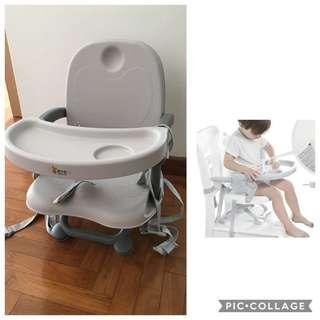 🚚 Portable baby high chair, foldable baby feeding chair