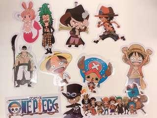 貼紙 行李貼紙 海賊王 one piece sticker