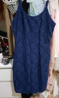 Dress lace f21