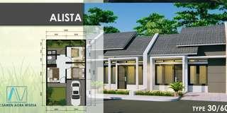 Rumah Subsidi Double Dinding Fasilitas Lengkap di Cibitung Bekasi
