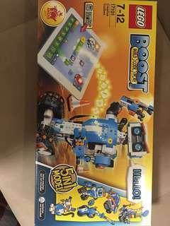 Lego boost robot build code stem