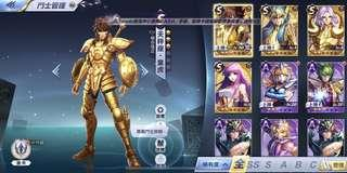 10s 聖鬥士星矢覺醒 4s卡(有童虎)