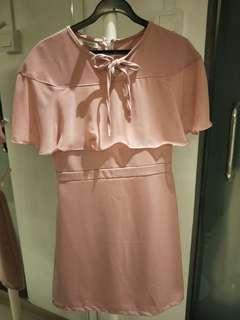 SALE = Brand new pink dress with frills