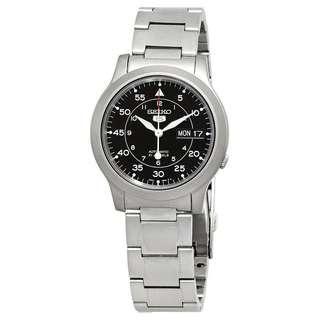 🚚 BNIB Seiko 5 Automatic Men's Watch SNK809K1 Sealed