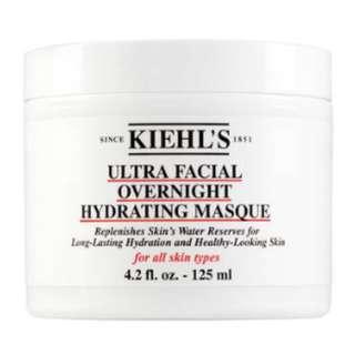 kiehl's 特效晚間保濕面膜(125ml)