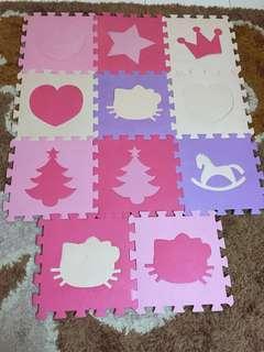 Hello kitty play mats foam mat