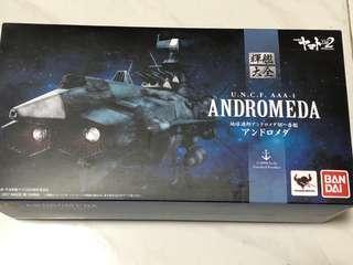 宇宙戰艦 輝艦大全 Bandai Andromeda U.N.C.F. AAA-1 魂商店 高達 模型