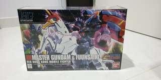 BNIB HG Master Gundam & Fuunsaiki