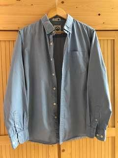 Light Blue Casual Shirt