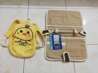 Mother on the go bag(new) with baby bag(used)