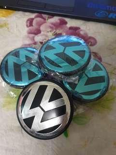 Volkswagen wheel centre hub caps