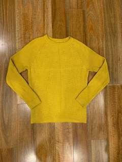 Topman Canary Yellow Jumper