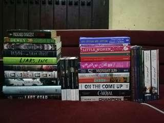 Books for sale! Brand new and pre-loved