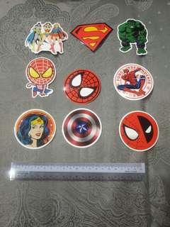 🚚 Superhero Stickers