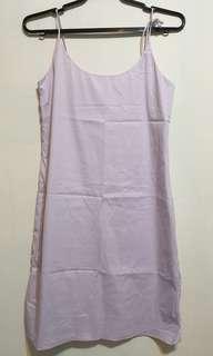 Lavender spaghetti strap dress