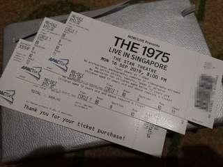 2× The 1975 Tickets. Cat A