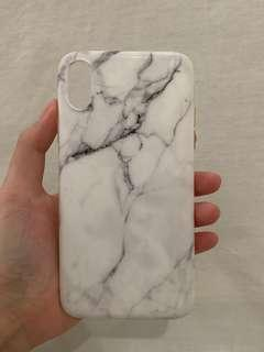 iphone xr marble phone case