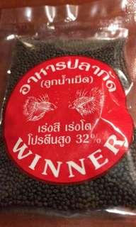 Thailand authentic betta food