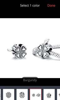 🚚 ilver Plated Alloy Charm Beads Fit Pandora Charm