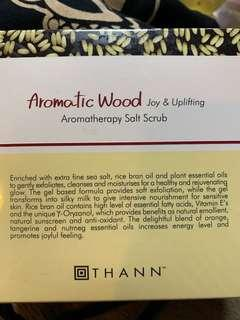 Thann - Aromatic wood Aromatherapy Salt Scrub
