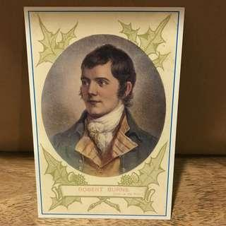 Literature related Postcard for Collectors #4 Robert Burns