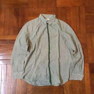 G2000 綠色格仔 Shirt 恤衫 襯衫