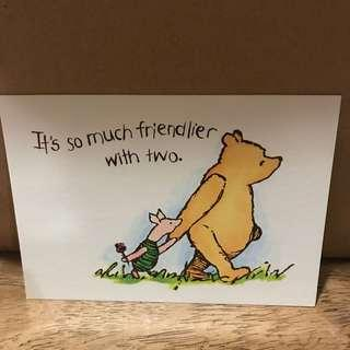 Literature related Postcard for Collectors #6 Winnie the Pooh