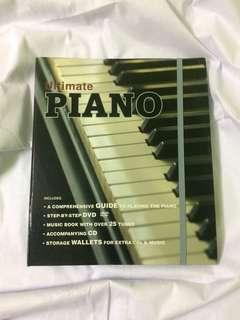 Piano lesson book inc CD & DVD