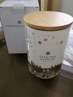 Crabtree & Evelyn Procelain Container