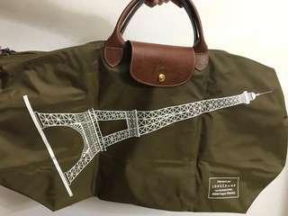 🚚 Longchamp Le Pliage Eiffel Tower Travel Bag