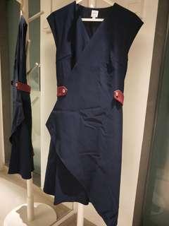 🚚 SALE = Cape wrap-around dress