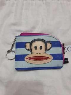 大嘴猴零錢包 卡夾 鑰匙圈